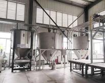 密炼机原料储料区